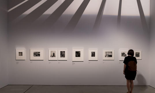 Install photo from Dorothea Lange: Politics of Seeing exhibition