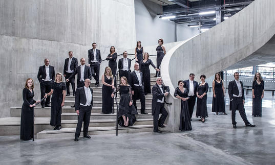 BBC Singers 2019-20 group image