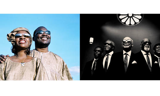 photo of Amadou & Mariam with the Blind Boys of Alabama