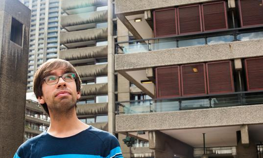 Thomas Kohut in the Barbican