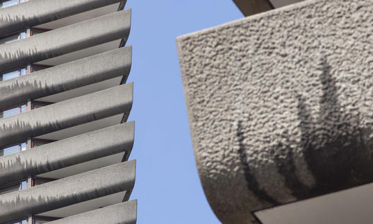 Photo of Barbican concrete architecture