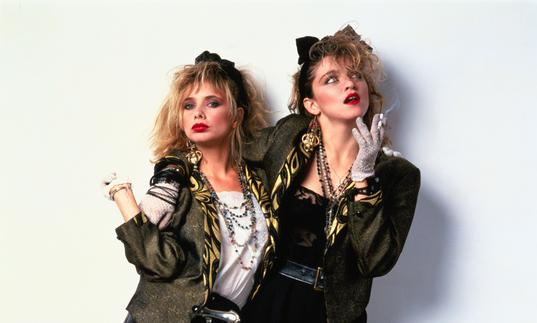 Madonna and Rosanna Arquette, Desperately Seeking Susan