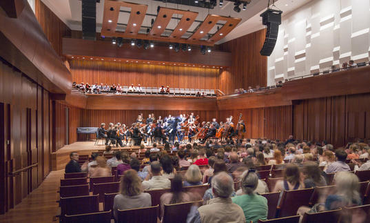 The Guildhall Symphony Orchestra perform in Milton Court