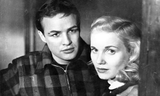 Marlon Brando and Eva Marie Saint, On the Waterfront