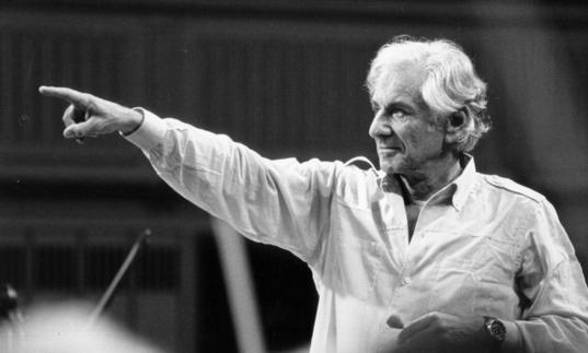 Photo of Leonard Bernstein