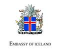 Logo for Embassy of Iceland