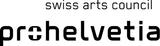Swiss Arts Council 'prohelvetia' logo