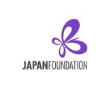 The Japan Foundation logo - a purple butterfly