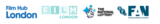 Film London logo strip line