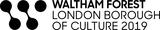 Waltham Forest London Borough of Culture 2019 logo