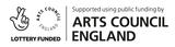 National Lottery Arts Council England logo